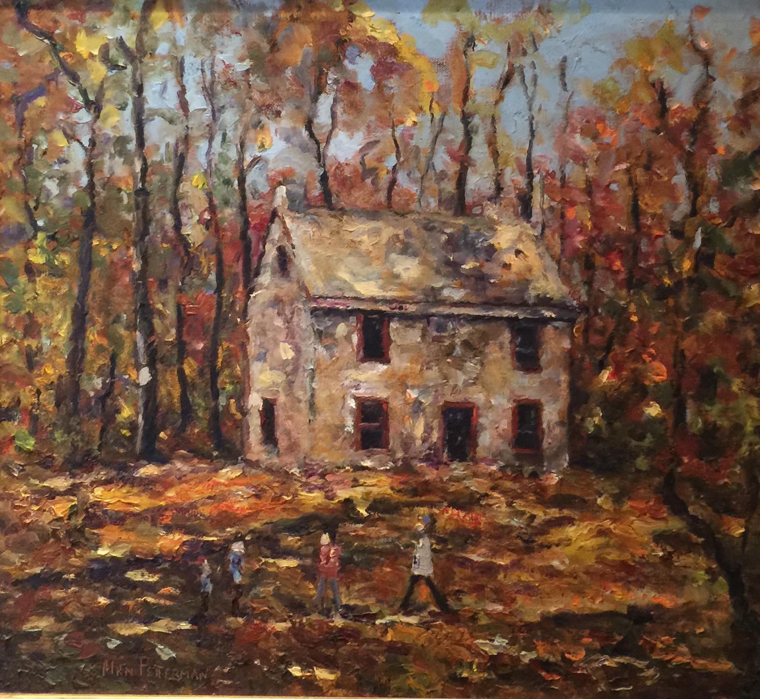 Alan Fetterman Painting Of Little Stone House FullSizeRender